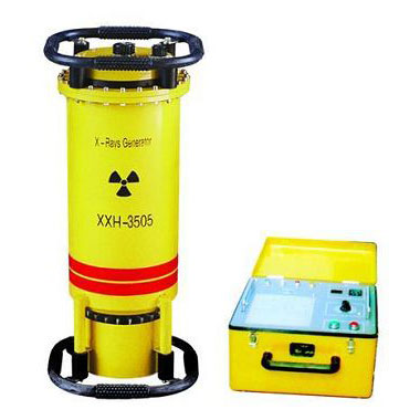 Directional radiation portable X-ray flaw detector XXQ-1605 with glass x-ray tube